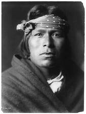 American Indian Native American Repro Photo 6x4 inch 'An Acoma Man' 1905