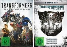 4 DVDs * TRANSFORMERS TRILOGIE ( 1 2 3 ) + TRANSFORMERS 4 IM SET # NEU OVP =