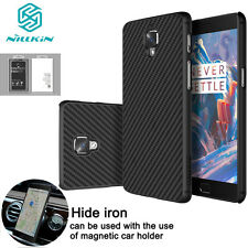 New Nillkin Carbon Fiber Matte Phone Case Cover Protector For OnePlus 3 A3000/3T
