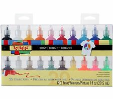 I Love To Create Scribbles 3D Fabric Paint 1oz 20/Pkg, New, Free Shipping