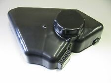 FORD FIESTA ST 180 MK 7 HEADER TANK COVER AND CAP BLACK PLASTIC CARBON DIPPING