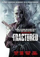 """Fractured (DVD, 2014), """"Every Waking Moment is a Nightmare"""", Horror, VERY GOOD!!"""