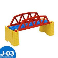 GENUINE NEW TOMY THOMAS TRAIN BLUE RAIL SCENIC PART- J-03 IRON BRIDGE 381006