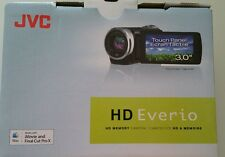Brand New JVC Everio HD Camcorder Video Camera Digital Vlogging Black GZ-HM65BU