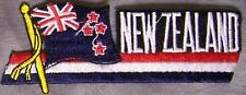 Embroidered International Patch National Flag of New Zealand NEW streamer