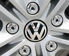 4 x VOLKSWAGEN ALLOY WHEEL BADGES CENTER HUB CAPS 65mm VW Golf Jetta Passat SET