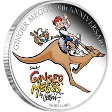 2011 Australia Ginger Meggs Celebrating 90years!  1oz Silver Proof $1 Coin