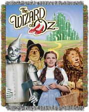 Wizard of Oz Group Entertainment 48x60 Metallic Tapestry Throw