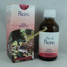 Erboristeria Magentina OLIO di RICINO naturale 100ml capelli sopracciglia vegan