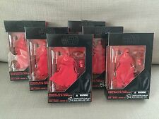STAR WARS - BLACK SERIES - Emperors Royal Guard - WALMART - LOT X 6