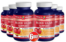 Blood Sugar Monitor - Dietary Supplement. Cardiovascular Health(6 Bottles)
