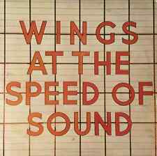 WINGS - Wings At The Speed Of Sound (LP) (G++/VG+)