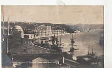 BF19159 palais imperial de dolmo bagrche constantinople turkey  front/back image