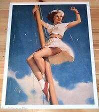 Gil Elvgren Classic Anchors A-Wow Pin-Up  Large Picture TASCHEN