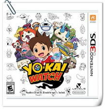 3DS Nintendo Games Yo-Kai Watch RPG