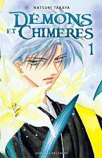 Collection de mangas Démons et Chimères en français - Tomes 1 à 4 - Delcourt