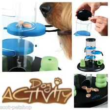 Dogs Dog Training Activity Gamble Tower Treat Dispenser