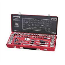 """Sidchrome 60 Piece 1/4"""" 1/2"""" Drive Socket Set"""