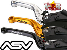 Yamaha R1 2002 03 R6 1999 2000 01 02 03 04 ASV C5 Lever Set Gold Short