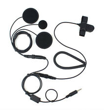 New XQF Professional Motorcycle Helmet PTT Headset Earpiece for YAESU Ham Radio