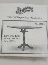 Tilt Top Tea Table 13001  dollhouse furniture kit Houseworks 1/12 scale wooden
