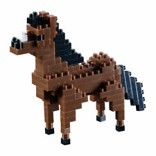 *NEW* BRIXIES HORSE 120 Pieces Nano / Micro-Sized Building Blocks Brick #200.070
