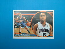 2010-11 Panini NBA Sticker Collection n.131 Gerald Henderson Charlotte Bobcats