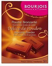 Bourjois Delice de Poudre Bronzing Powder Peaux Claires/ Medianes 51