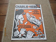 JOURNAL BD CHARLIE HEBDO 344 front national resistance collaboration riss 1999