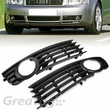 FOR 2002-2005 AUDI A4 B6 SEDAN FRONT LOWER SIDE FOG LIGHT GRILLE PAIR 8E0807681