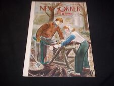 1946 NOVEMBER 16 NEW YORKER MAGAZINE - BEAUTIFUL FRONT COVER FOR FRAMING- J 1501