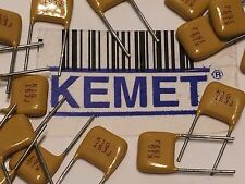 KEMET BEST MULTI LAYER CERAMIC CAPACITOR 470nF .47uF 100V X7R RATED x5  fbb26.10