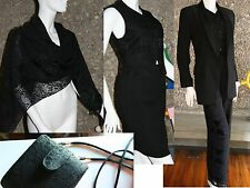 $7,000 7 Items Cerruti It 38 Jacket Vest Shawl Skirt Palazzo + Narrow Pants