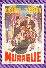 Carte Postale Affiche de Film - MURAGLIE