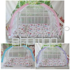 Baby Kid Child Cot Bed Foldable Fold Mosquito Net Tent 110*70*70 E