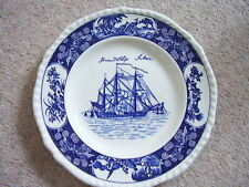 Wedgwood England porcelain blue and white plate-dish