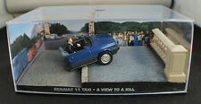 Fabbri ◊Renault 11 ◊ James Bond 007 ◊ A view to kill  ◊ 1/43