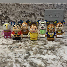 Disney's Beauty and the Beast Vinylmation Series 2 Set of 7 Common Vinyls