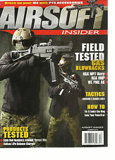 AIRSOFT INSIDER MAGAZINE, SUMMER, 2015 VOL. 8  ( FIELD TESTED  * GAS BLOWBACKS )