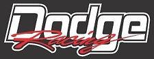 Dodge Racing Logo Vinyl Decal Sticker Dart Charger Challenger Viper RAM SRT