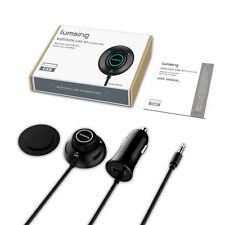 Auto Bluetooth 4.0 Freisprecheinrichtung Empfänger Audio Musik car Kit schwarz
