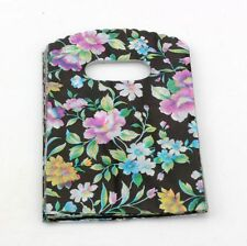 Jewelry Pouches.50pcs  Peony Flower  Plastic Bags Jewelry Gift Bag 9X15cm
