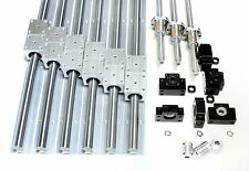600mm x1000mm CNC Router Machine Kit 20mm Rails BallScrews Linear Motion Bearing