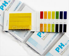 New Water Testing 80 Litmus Paper Test Strips Alkaline Acid PH Indicator Utility