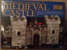Brick N Build Brick Making And Castle Building Kit Medieval Castle