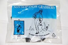 Non Slip Snow Grabbers Ice Snow Winter Traction Aid Shoe Protective Gear Womens