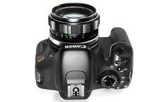 Canon 7D,7D II, 60D,70D,6D,T2i,T3i,T4i,T5i Minolta Rokkor PF 58mm f1.4 lens