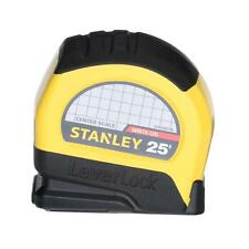 Stanley 25 feet CC Lever Lock Center Tape For Measuring Surfaces And Distances