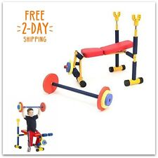 Gym Equipment For Kids Indoor Room Weight Playground Set Children Home Lifting