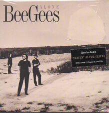 ★☆★ CD Single BEE GEES Alone 2-track CARD SLEEVE - USA - NEUF - NEW  ★☆★